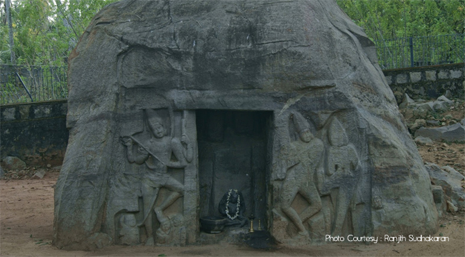 Vizhinjam rock cut cave vizhinjam harbour vizhinjam marine aquarium thiruvananthapuram kerala - Chambr kochi ...