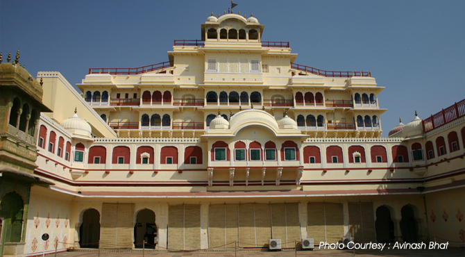 City Palace Jaipur Mubarak Mahal Chandra Mahal